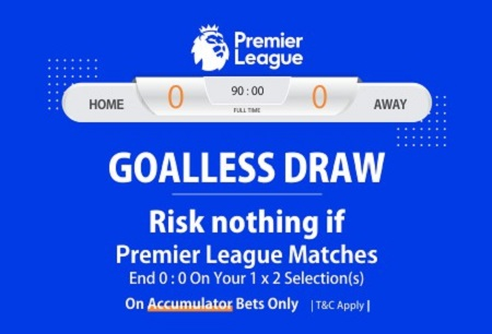 NairaBET Goalless Draw Bonus