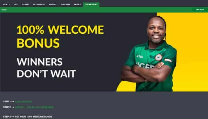 Welcome Bonus Offer First