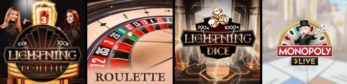 N1Bet Casino Games